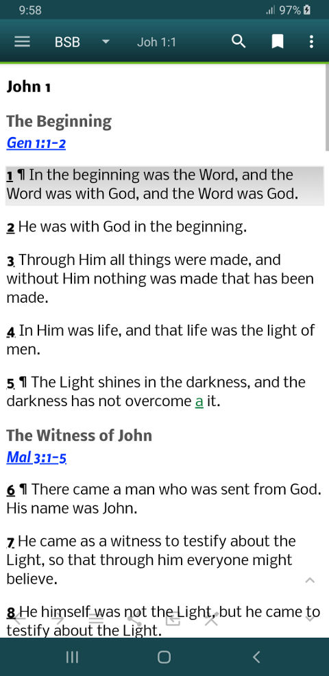 MySword - Free Android Bible - Download