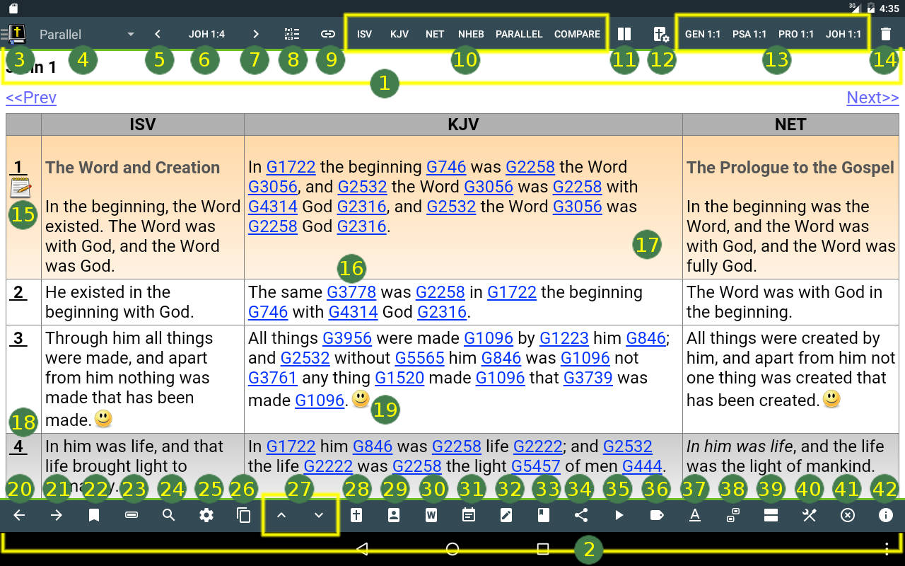 MySword - Free Android Bible - User's Guide